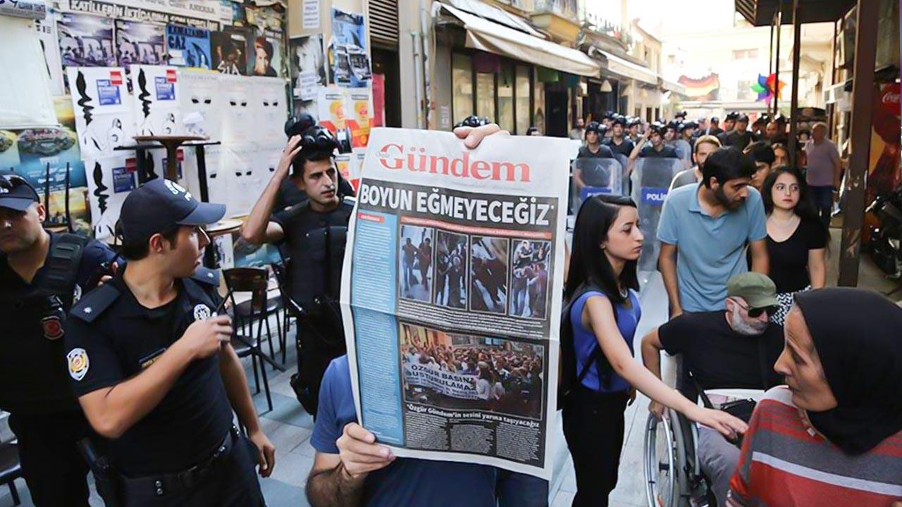 Prison sentences upheld for Özgür Gündem 'Editors-in-Chief on Watch'
