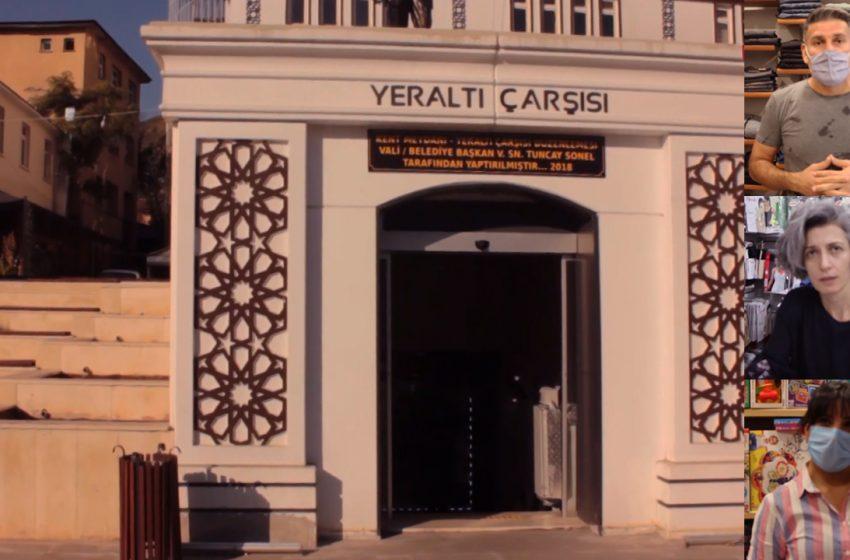 Shopkeepers in Tunceli (Dersim) in Turkey face economic hardship