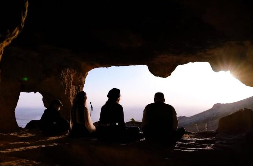 First Amida Concert performed in Hasuni Caves in Diyarbakır