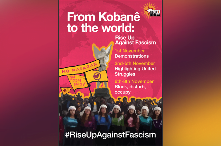 RiseUp4Rojava calls on activists to participate in World Kobanê Day