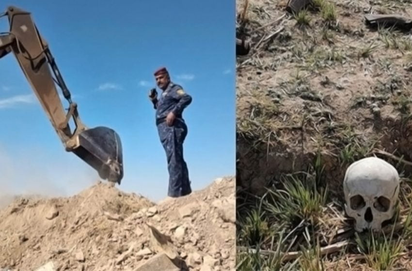 Mass grave of ISIS victims found in Kirkuk