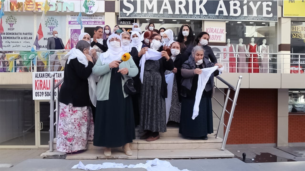 The Peace Mothers Initiative in Mardin (Mêrdîn) appeals to the KDP for peace