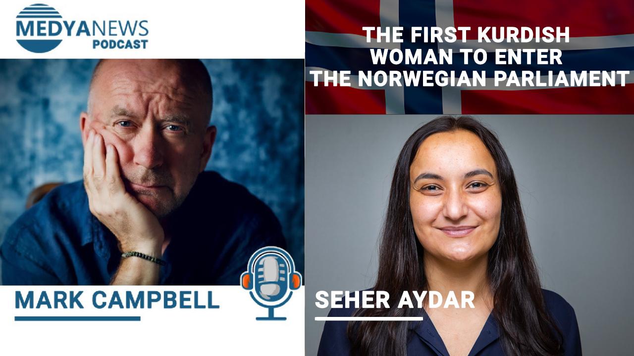 The first Kurdish woman to enter the Norwegian Parliament talks to Medya News